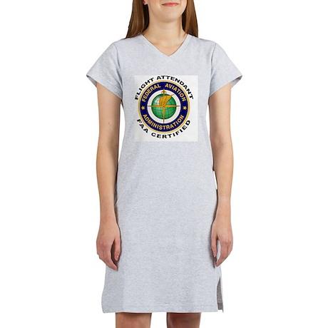 FAA_Logo_Color_FltA-patch Women's Nightshirt