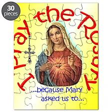 pray_button_6x6_yellow_slant Puzzle