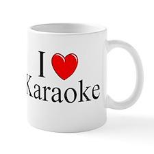 """""""I Love (Heart) Karaoke"""" Mug"""