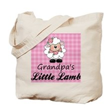 Grandpas Little Lamb Tote Bag