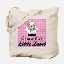 Grandpas Little Lamb Tote Bag
