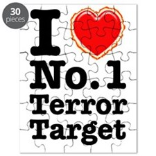 I Love No. 1 Terror Target Puzzle