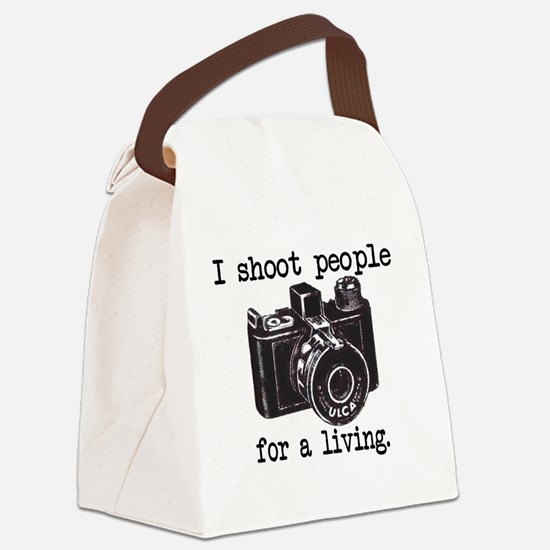 IShoot Canvas Lunch Bag