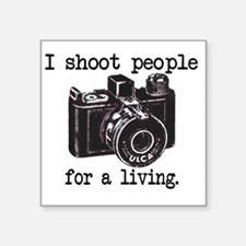 "IShoot Square Sticker 3"" x 3"""