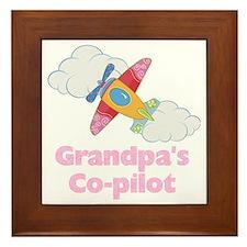 copilot girl Framed Tile
