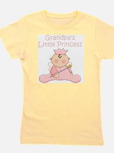 grandpas little princess Girl's Tee