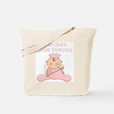 grandpas little princess Tote Bag