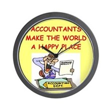 ACCOUNTANTS.png Wall Clock