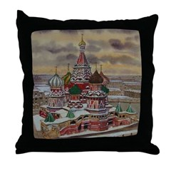 St. Basil's, Moscow Throw Pillow