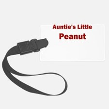 Aunties Little Peanut Luggage Tag