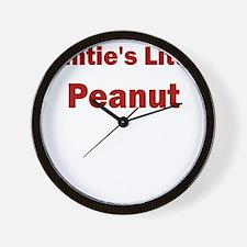 Aunties Little Peanut Wall Clock