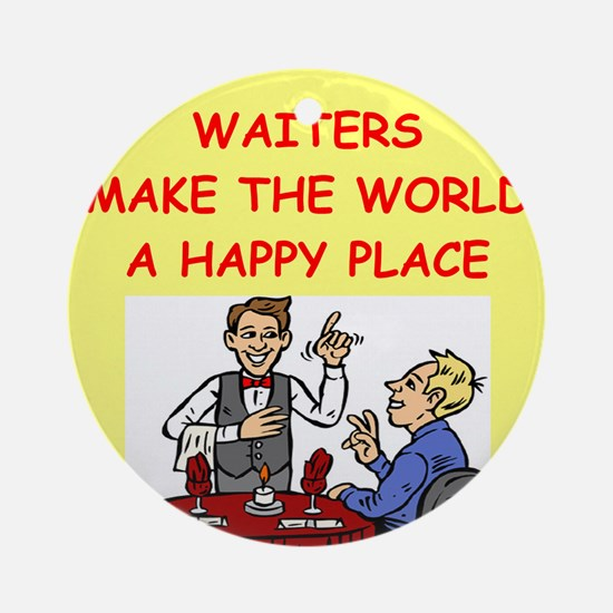 WAITER.png Ornament (Round)