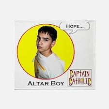 Altar Boy - Character Spotlight - Ho Throw Blanket