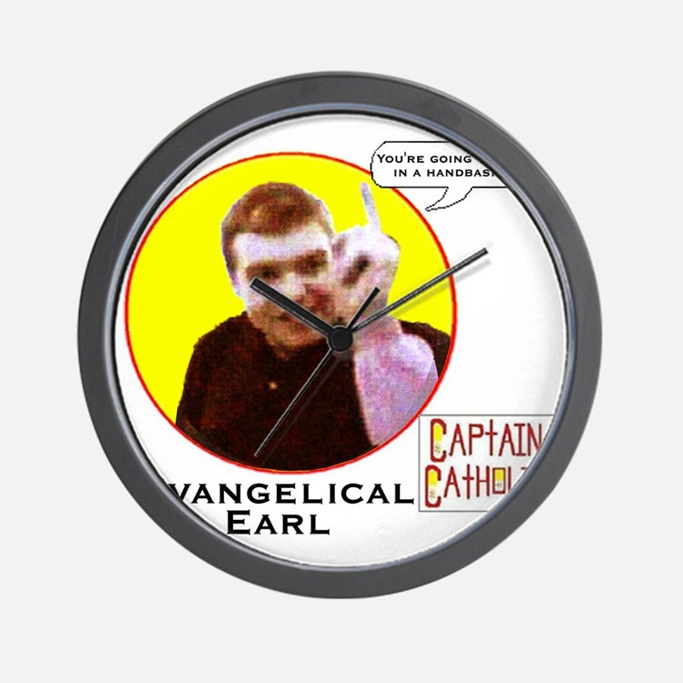 Evangelical Earl - Character Spotlight  Wall Clock