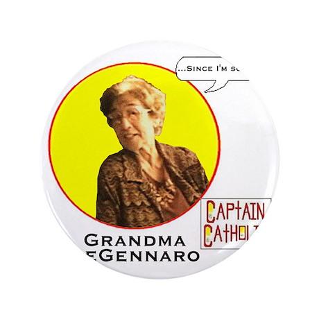 "Grandma DeGennaro - Character Spotligh 3.5"" Button"