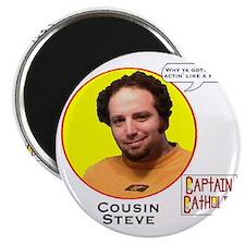 Cousin Steve - Character Spotlight - Large  Magnet