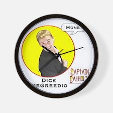 8-Dick DeGreedio - Character Spotlight  Wall Clock