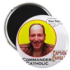 10-Commander Catholic - Character Spotlight Magnet