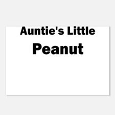 Aunties Little Peanut Black Postcards (Package of