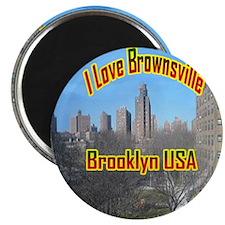 3-300brownsville_onlineclock Magnet