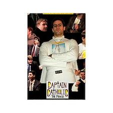 CAPTAIN CATHOLIC - THE MOVIE - Po Rectangle Magnet