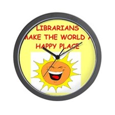 LIBRARY.png Wall Clock