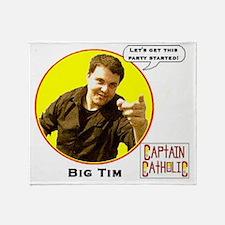 Big Tim - Character Spotlight - Larg Throw Blanket
