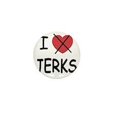 1_blank_hate_JERKS01 Mini Button
