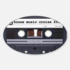 2-house tape blk Decal