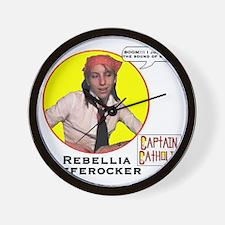 4-Rebellia Offerocker - Character Spotl Wall Clock