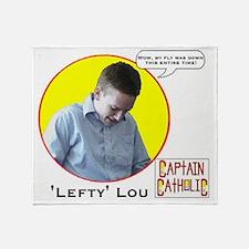 Lefty Lou - Character Spotlight - La Throw Blanket