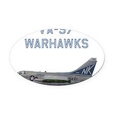 VA-97 Corsair II #2 Oval Car Magnet