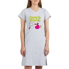 Made In Sweden Girl Women's Nightshirt