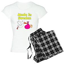 Made In Sweden Girl Pajamas