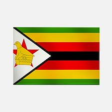 Flag of Zimbabwe Rectangle Magnet