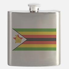 Flag of Zimbabwe Flask