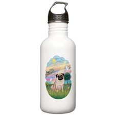 AngelStar-Pug 17 Water Bottle