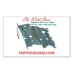 The Wild Geese - Rectangle Decal