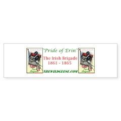 Pride of Erin / Irish Brigade - Bumper Sticker