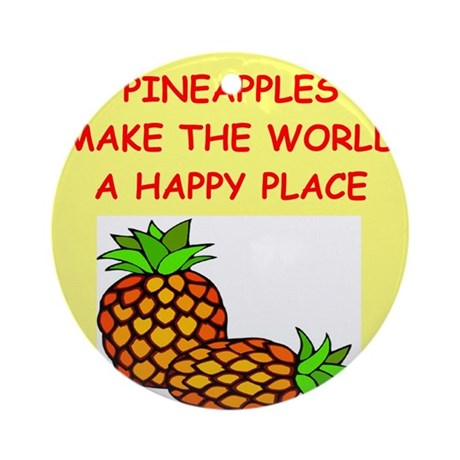 PINEaPPLES.png Ornament (Round)