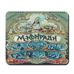 Russian Chocolate Vintage Ad Mousepad