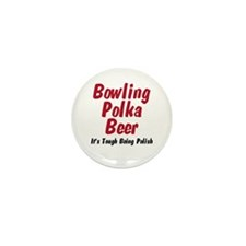 I'm Polish Mini Button (10 pack)