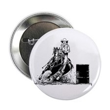 "Barrel Racing 2.25"" Button"