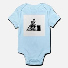 Barrel Racing Infant Bodysuit
