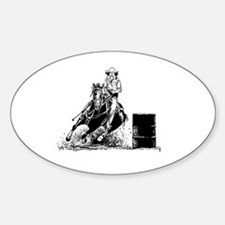 Barrel Racing Decal