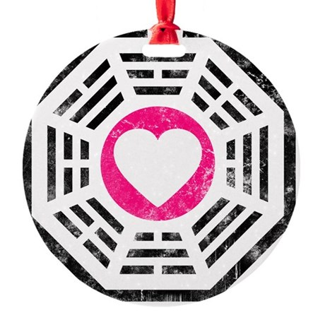 Dharma Love 2 Round Ornament
