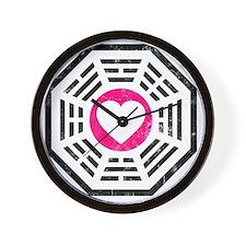Dharma Love 2 Wall Clock