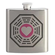 Dharma Love 2 Tile Flask