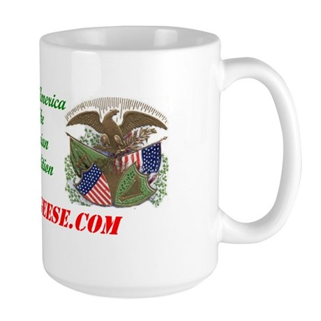 Irish America: Fenian Trad - Large Mug