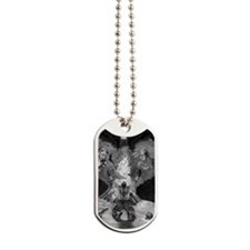 Fire Prayer Dog Tags
